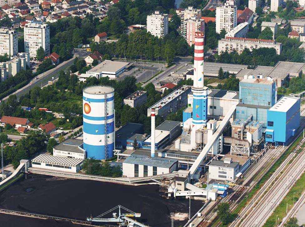Slovenia, CHP Toplarna Ljubljana, 315 MW, supplies of spare parts including overhauls, assembly, project planning, processing and startup.