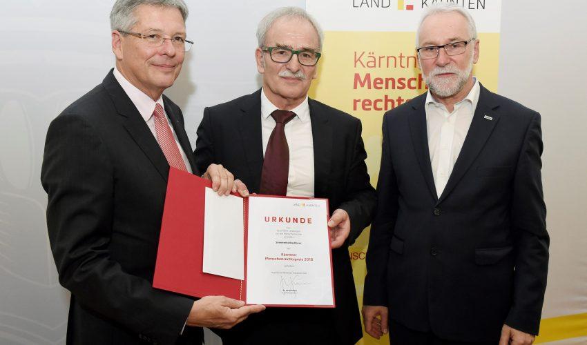 Kärntner Menschenrechtspreis für Sommerkolleg Bovec und große Erfolge der Sportkletterin Janja Garnbret