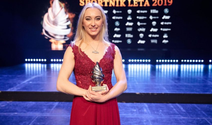 Janja Garnbret ponovno je izbrana za sportašicu godine
