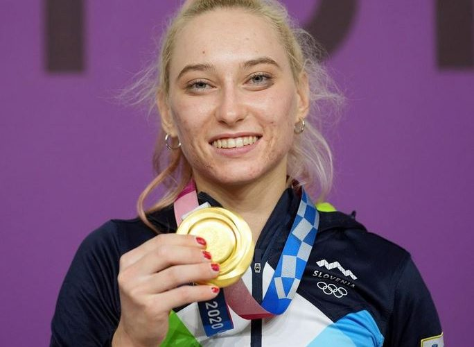Olympic gold – congratulations to Janja Garnbret!